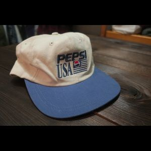 Vintage pepsi hat 80's